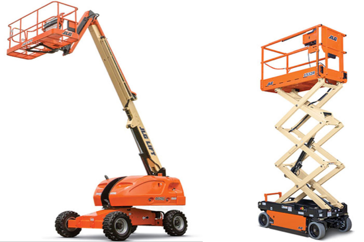 Boom and scissor lift certified
